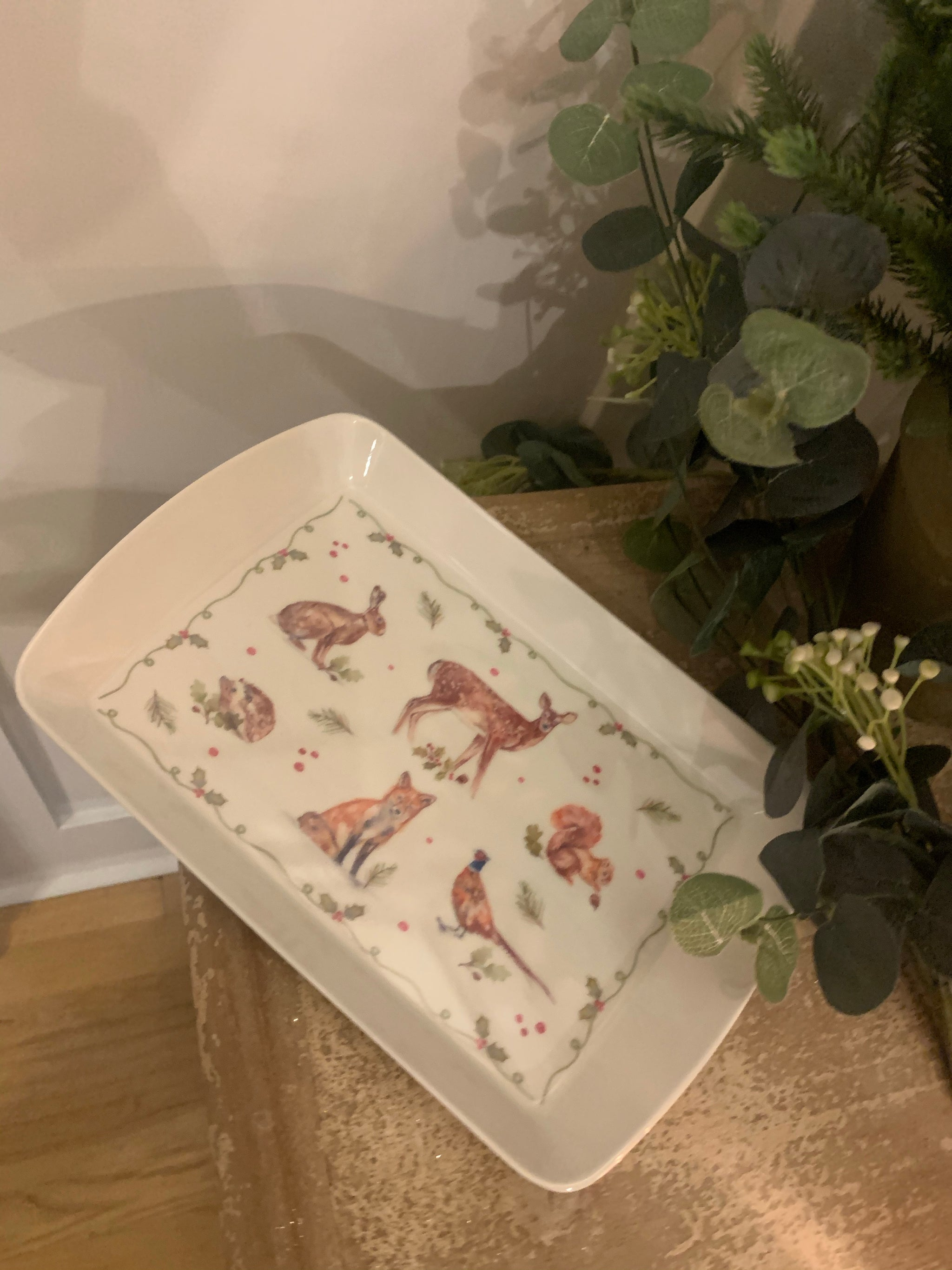 Small Winter Forest Tray