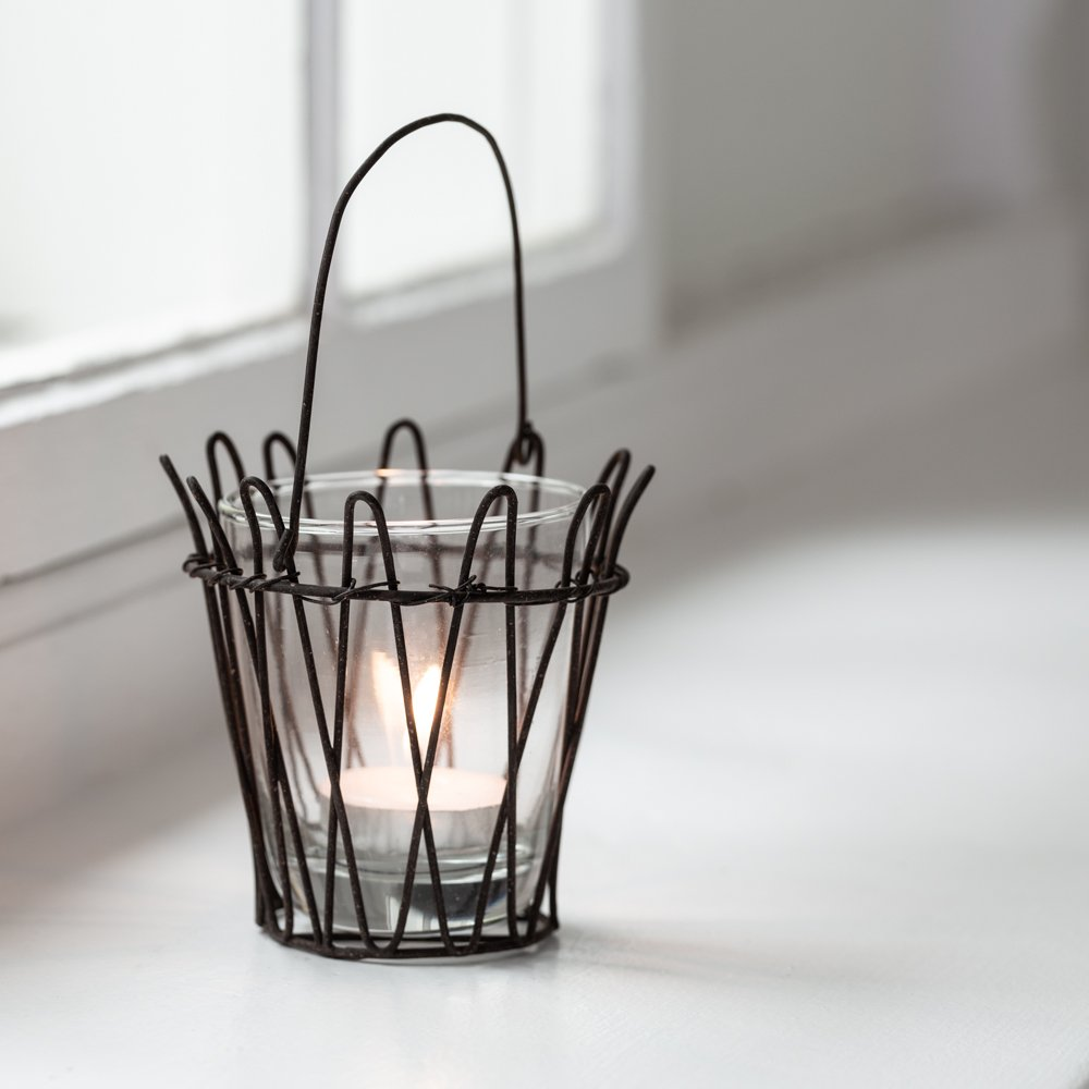 'Lucie' Hanging Wire Tealight holder