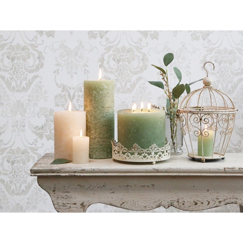 Macon rustic pillar candle - various sizes & colours