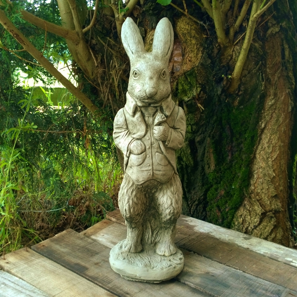 Stone Peter Rabbit *NOT AVAILABLE FOR POSTAGE*