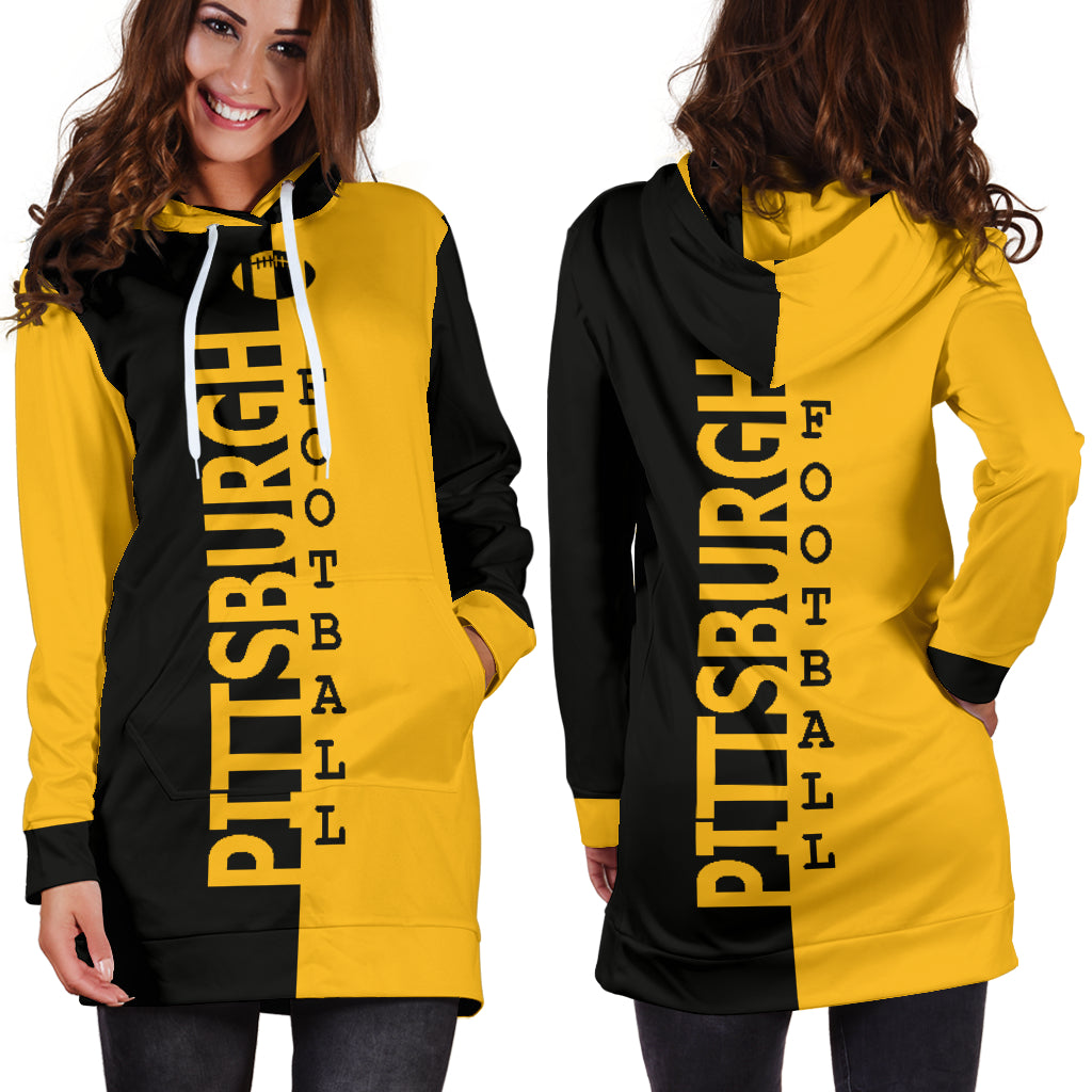 competitive price 7e941 127c4 Pittsburgh Steelers Fans Hoodie Dress