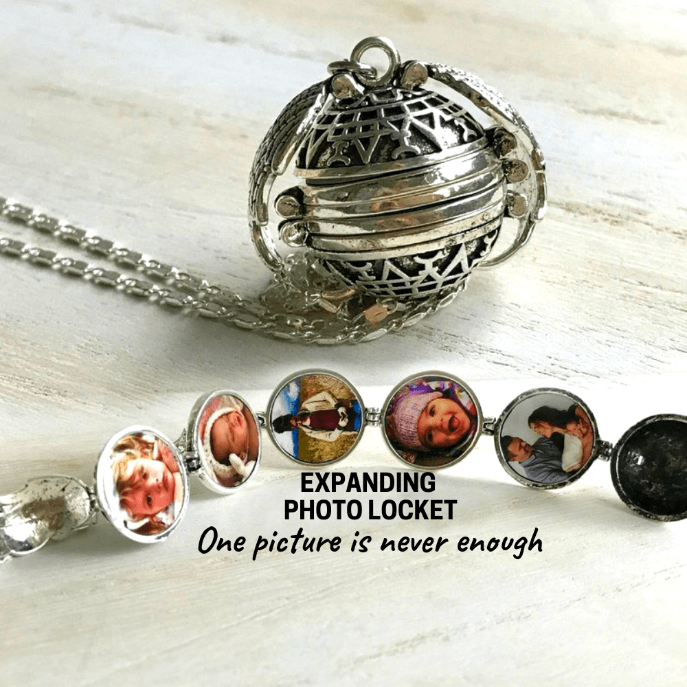 Angel Wings - Expanding Photo Locket