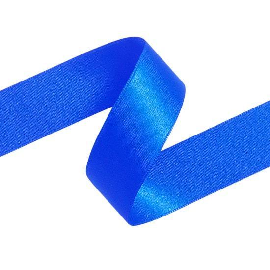 Double Sided Satin Ribbon (Blue) - All Wrapped Up