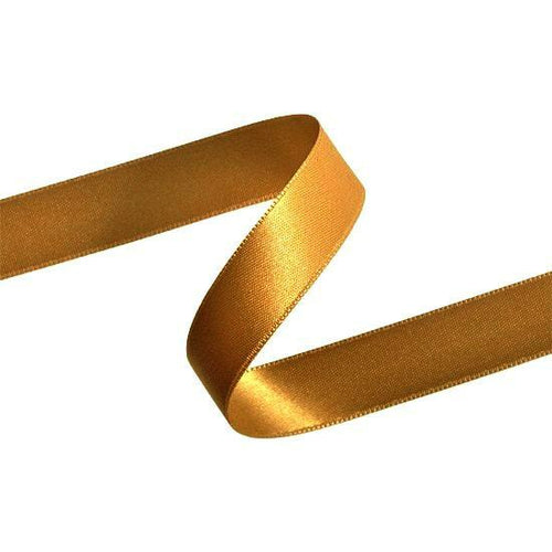 Double Sided Satin Ribbon (Gold) - All Wrapped Up