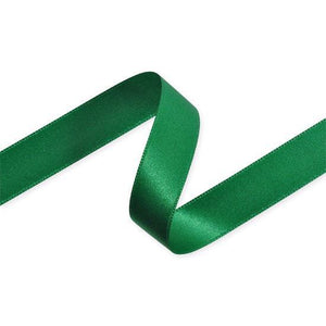 Double Sided Satin Ribbon (Green) - All Wrapped Up