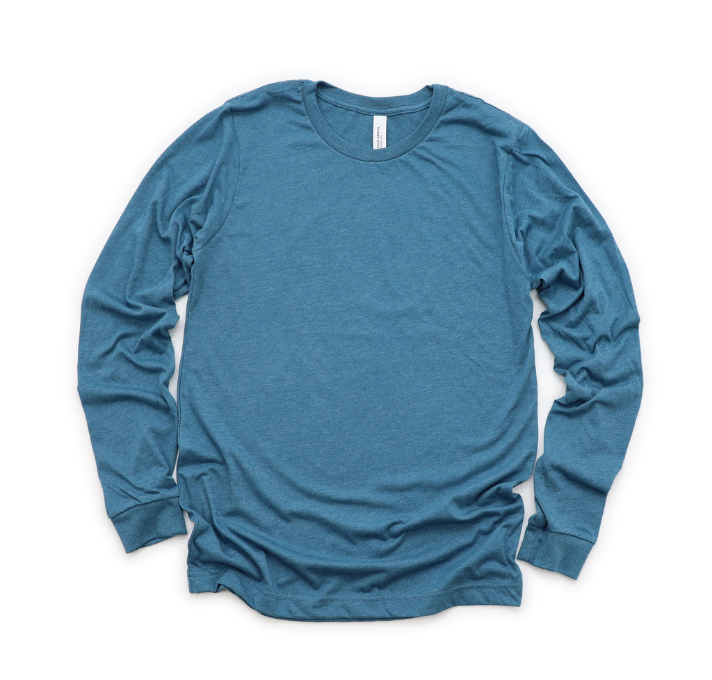 Deep Teal Long Sleeve (Crew Neck)