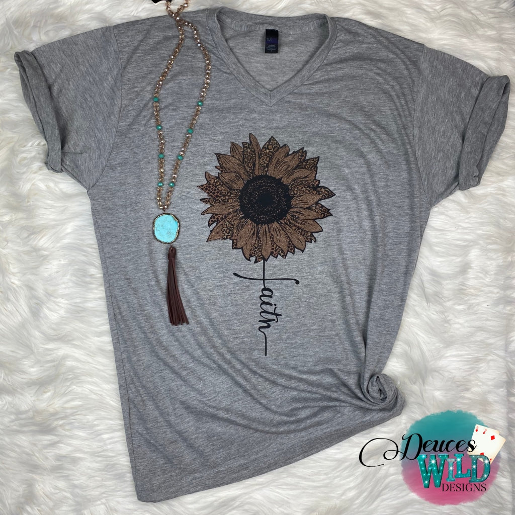 Heather Grey Tee (V Neck)