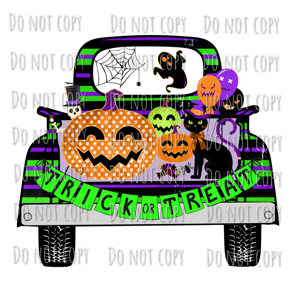Trick or Treat Truck Design