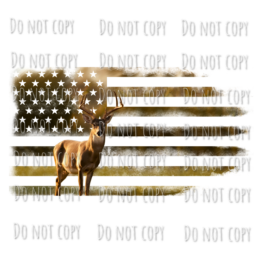 Deer Flag Design