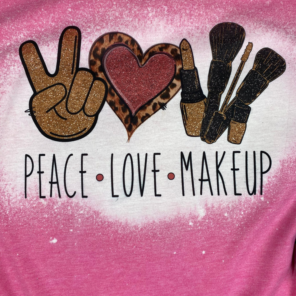 Peace Love Makeup Design