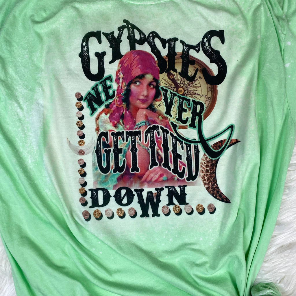 Gypsies Never Get Tied Down Design
