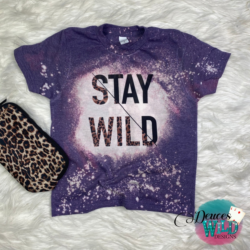 YOUTH - Purple Bleached T-shirt