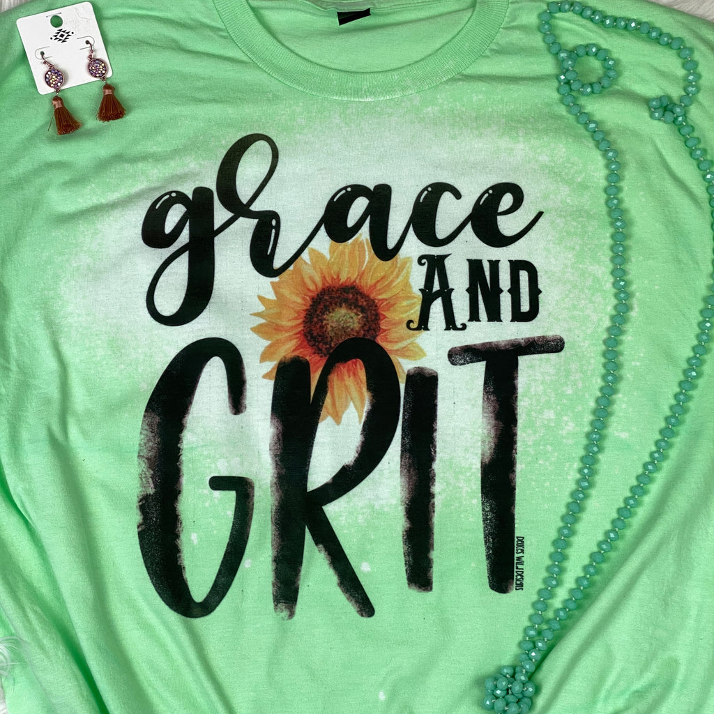 Grace & Grit with Sunflower Design