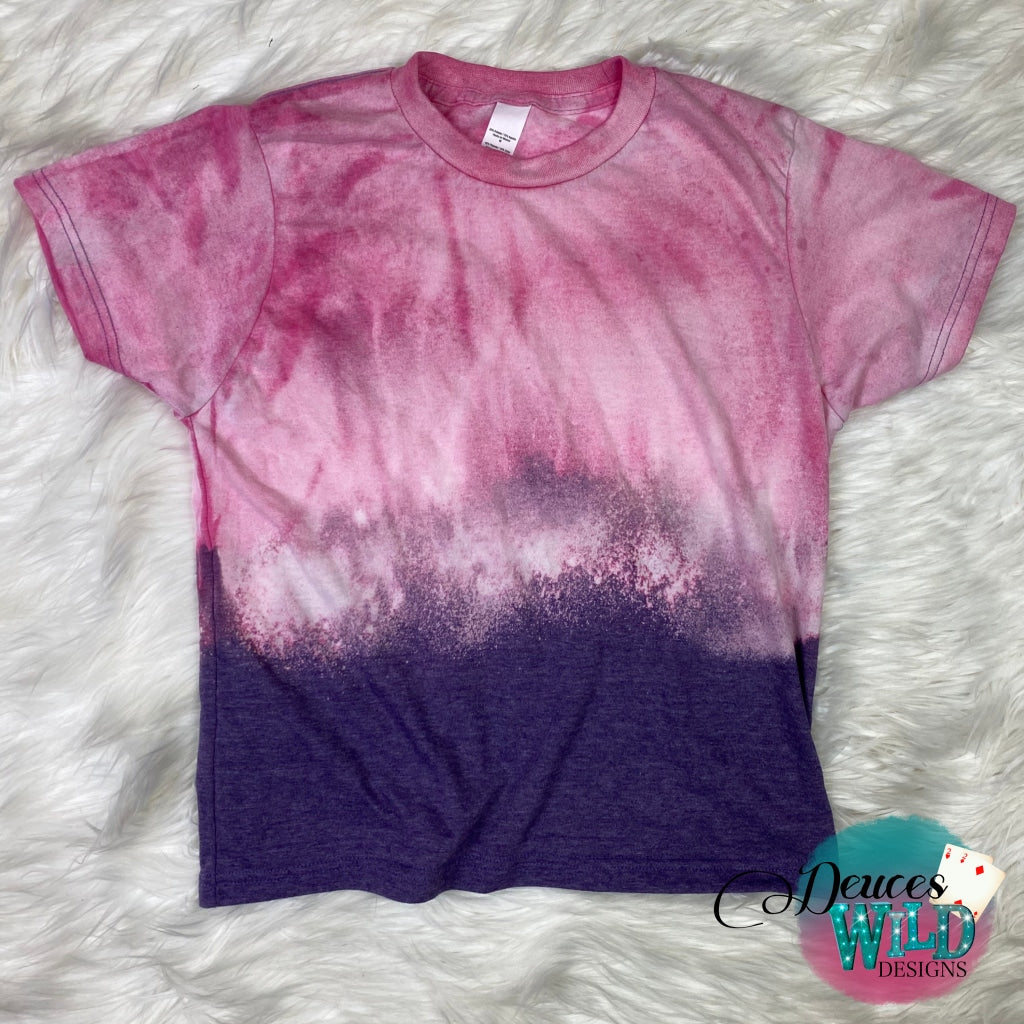 *YOUTH - Mineral Washed Purple T-shirt