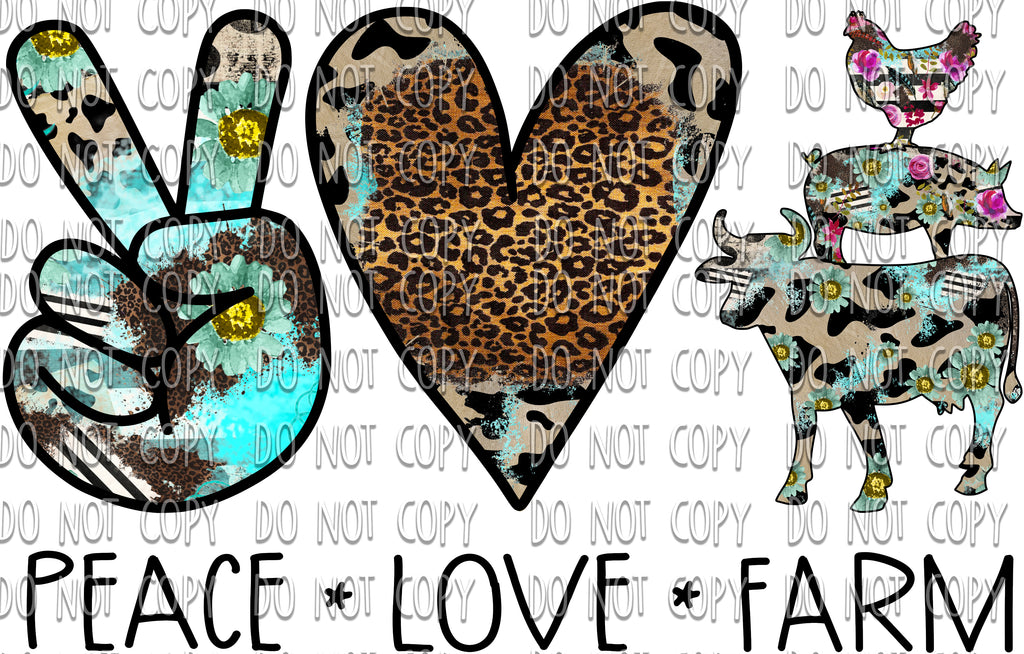 Peace Love Farm Design