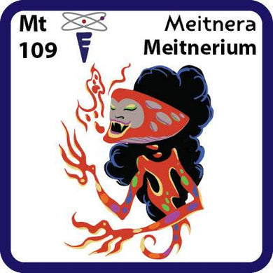Mt Meitnerium- Familiar Meitnera Science Game for Kids Character