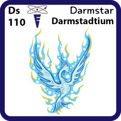 Ds Darmstadtium- Familiar Darmstar Science Game for Kids Character