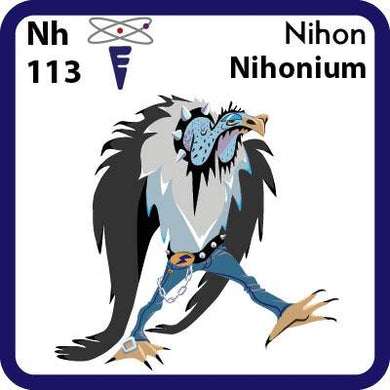 Nh Nihonium- Familiar Nihon Science Game for Kids Character
