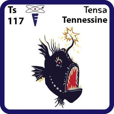 Ts Tennessine- Familiar Tensa Science Game for Kids Character