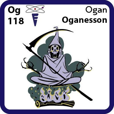 Og Oganesson- Familiar Ogan Science Game for Kids Character