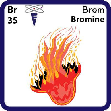 Br Bromine- Familiar Brom Science Game for Kids Character