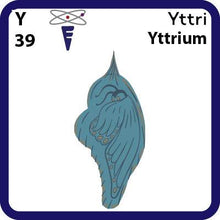Load image into Gallery viewer, Y Yttrium- Familiar Yttri Science Game for Kids Character