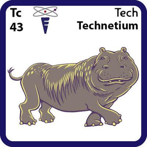 Tc Technetium- Familiar Tech Science Game for Kids Character