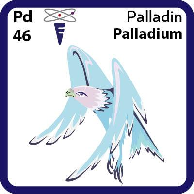 Pd Palladium- Familiar Palladin Science Game for Kids Character