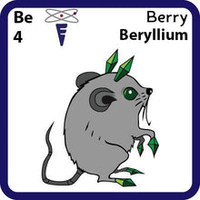 Load image into Gallery viewer, Be Beryllium- Familiar Berry Science Game for Kids Character