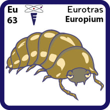 Load image into Gallery viewer, 63 Eu Europium- Familiar Eurotras
