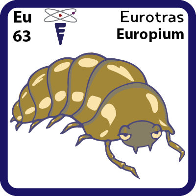 63 Eu Europium- Familiar Eurotras
