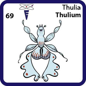 Tm Thulium- Familiar Thulia Science Game for Kids Character