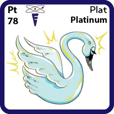 Pt Platinum- Familiar Plat Science Game for Kids Character