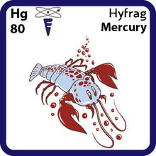 Load image into Gallery viewer, Hg Mercury- Familiar Hyfrag Science Game for Kids Character