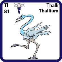 Load image into Gallery viewer, Tl Thallium- Familiar Thalli Science Game for Kids Character
