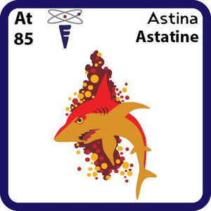 At Astatine-Familiar Astina Science Game for Kids Character
