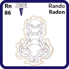 Load image into Gallery viewer, Rn Radon- Familiar Rando Science Game for Kids Character