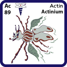 Load image into Gallery viewer, 89 Ac Actinium- Familiar Actin