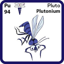 Load image into Gallery viewer, Pu Plutonium- Familiar Pluto Science Game for Kids Character