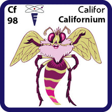 Load image into Gallery viewer, 98 Cf Californium- Familiar Califor