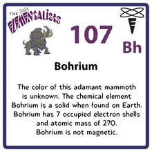 Load image into Gallery viewer, Bh Bohrium- Familiar Bohr Science Game for Kids Character