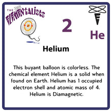Load image into Gallery viewer, He Helium- Familiar Heli Science Game for Kids Character