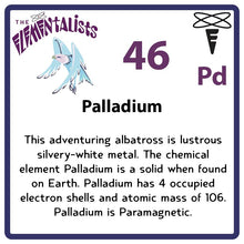 Load image into Gallery viewer, Pd Palladium- Familiar Palladin Science Game for Kids Character
