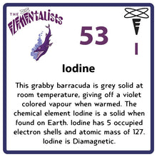 Load image into Gallery viewer, I Iodine- Familiar Ioda Science Game for Kids Character