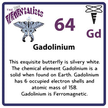 Load image into Gallery viewer, Gd Gadolinium- Familiar Gadfly Science Game for Kids Character