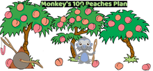 Load image into Gallery viewer, Monkey's 100 Peaches Plan: Pre-Order