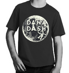 Dana Dash Tee, Glow-in-the-Dark on Space Black, Youth