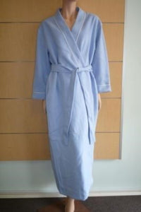 Dilly Lane Sleepwear Cotton Blend Fleece Wrap Dressing Gown - Matilda Jane Lingerie & Sleepwear