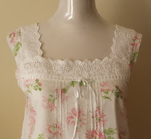Load image into Gallery viewer, French Country Cotton Nightie FCP147V