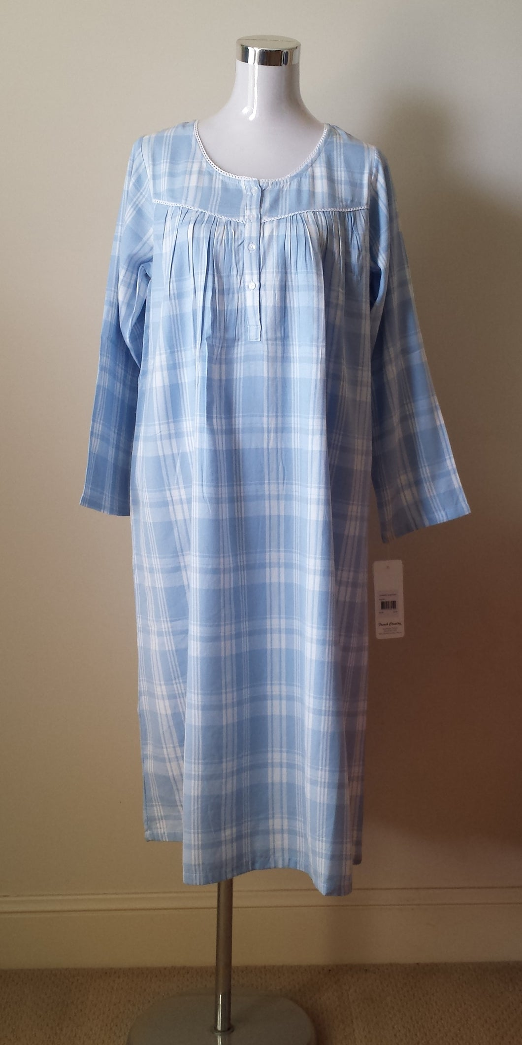 French Country Brushed Cotton Nightie Australia | Pure Cotton Nightwear Australia | Pure Cotton Nighties Australia